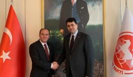Çakır, DP genel başkanı ile görüştü: Kırat şahlanışa geçti