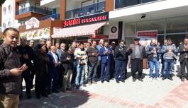 Kızlarpınarı muhtar adayı Gülçelik'in irtibat bürosu açıldı