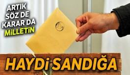 Oy verme işlemi doğu illerinde başladı!