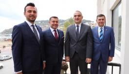 Turizm bakanı: Başkan Yücel ile Alanya'da turizmin 12 aya yayılmasını konuştuk.