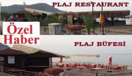 Plaj büfesi restaurant oldu!