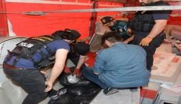 Alanya'da iki otelin plajında uyuşturucu ele geçirildi