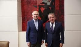 Antalya Büyükşehir belediye başkanı Böcek, Ankara da...