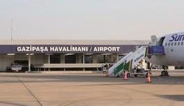 İşte Gazipaşa-Alanya havalimanına iniş yapan yolcu sayısı!