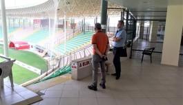 UEFA, Alanya Bahçeşehir okulları stadını denetledi