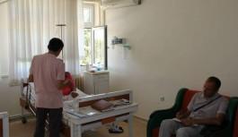 Alanya daki Raymar otelde zehirlenen turistler...!