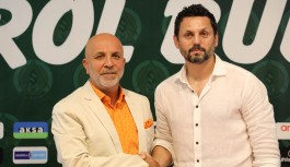 Alanyaspor'un yeni teknik direktöründen açıklama...
