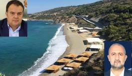 Demirci, Aysultan kadınlar plajının neden kapatıldığını açıkladı! İşte sorumlusu!