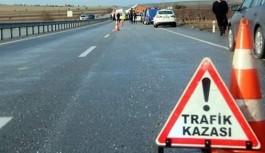 Rus çift kaza kurbanı!
