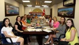 Şahin, kadın girişimcileri ağırladı!