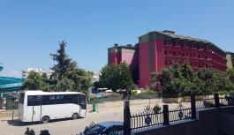 Aydınbey otelde yangın!