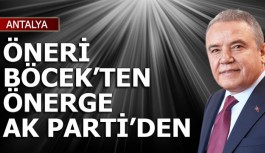 Öneri Böcek'ten önerge AK Parti'den