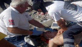 Rus turist denizde boğuldu!