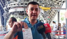 Teleferikte Alanyalı vatandaşlara fiyat jesti