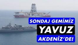 Yavuz Sondaj Gemisi Akdeniz'de!