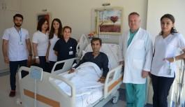 Alanya'da Akciğer kanseri olan vatandaş sağlığına kavuştu