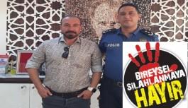 Alanya'da bireysel silahlanmaya hayır kampanyası başladı!