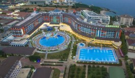 Turistlerin kamerasıyla Alanya Lonicera resort & Spa Hotel