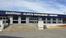 Alanya-Gazipaşa Havalimanı'na 8 ayda 773 bin yolcu
