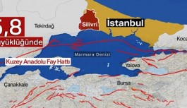 İstanbul'da 5,8 büyüklüğünde korkutan deprem!
