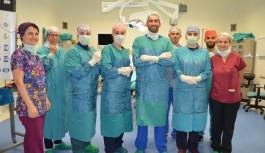 ALKÜ'de başarılı ameliyat!
