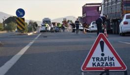 Avsallar'da yaralamalı kaza