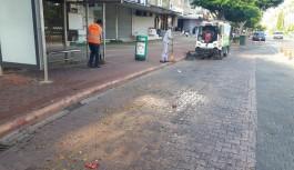Büyükşehir ekiplerinden temizlik çalışması