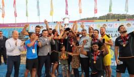 Plaj da şampiyon Alanya belediyesi!