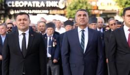 Ulu Önder Atatürk özlemle anıldı...
