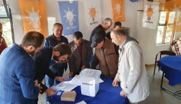 AKP Alanya da delege seçimi başladı!