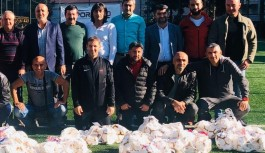 ASKF malzeme dağıtımı toplantısı yapıldı