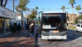 Alanya'da yeni ulaşım sistemi oturuyor