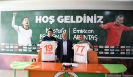 Alanyaspor'da iki transfer!