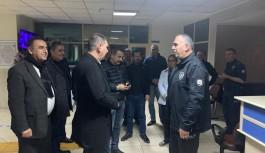 MHP'li Türkdoğan, güvenlik güçleriyle bir araya geldi