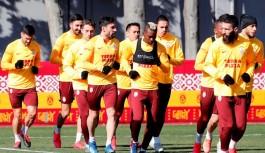 Galatasaray, Alanyaspor hazırlığına başladı