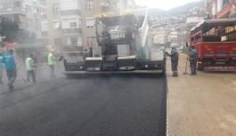Hacet mahallesine sıcak asfalt!