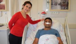 Ses kısıklığı için gitti, tümör tespit edildi!