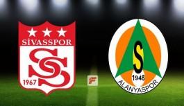 Sivasspor-Alanyaspor maçının biletleri satışta