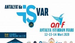 Antalya'da İstihdam Fuarı'na corona iptali