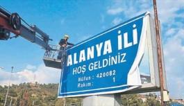 Ege ulaşım Alanya'yı il, Manavgat'ı ise ilçe yaptı!