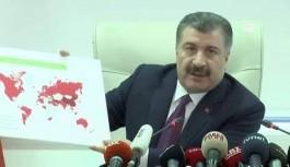 """Sağlık Bakanı açıkladı: """"Şu ana kadar can kaybı yok, seyahat yasağı konulan ülke sayısı 20'ye çıkarıldı"""""""