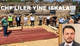 Ak Parti Alanya'dan, CHP Alanya'ya taş geldi!