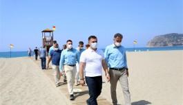 Alanya, Antalya bölgesinde mavi bayraklı ilk belediye oldu!