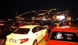 Alanya'da arabalı sinemalı günleri!