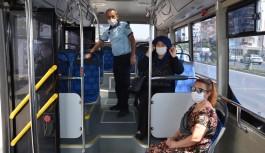 Alanya'daki halk otobüslerine denetim!