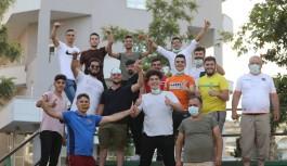 Alanyaspor'a maç öncesi taraftar dopingi