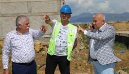 ALTSO Başkanı Şahin, hal inşaatında!