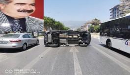 Arif komutan kaza geçirdi