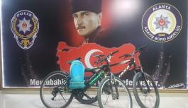 16 yaşındaki bisiklet hırsızı yakalandı