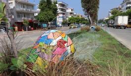 Alanya belediyesinden sanatsal dokunuş!
